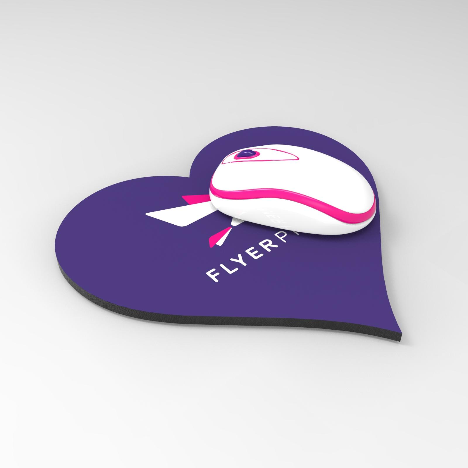 Mousepad inima