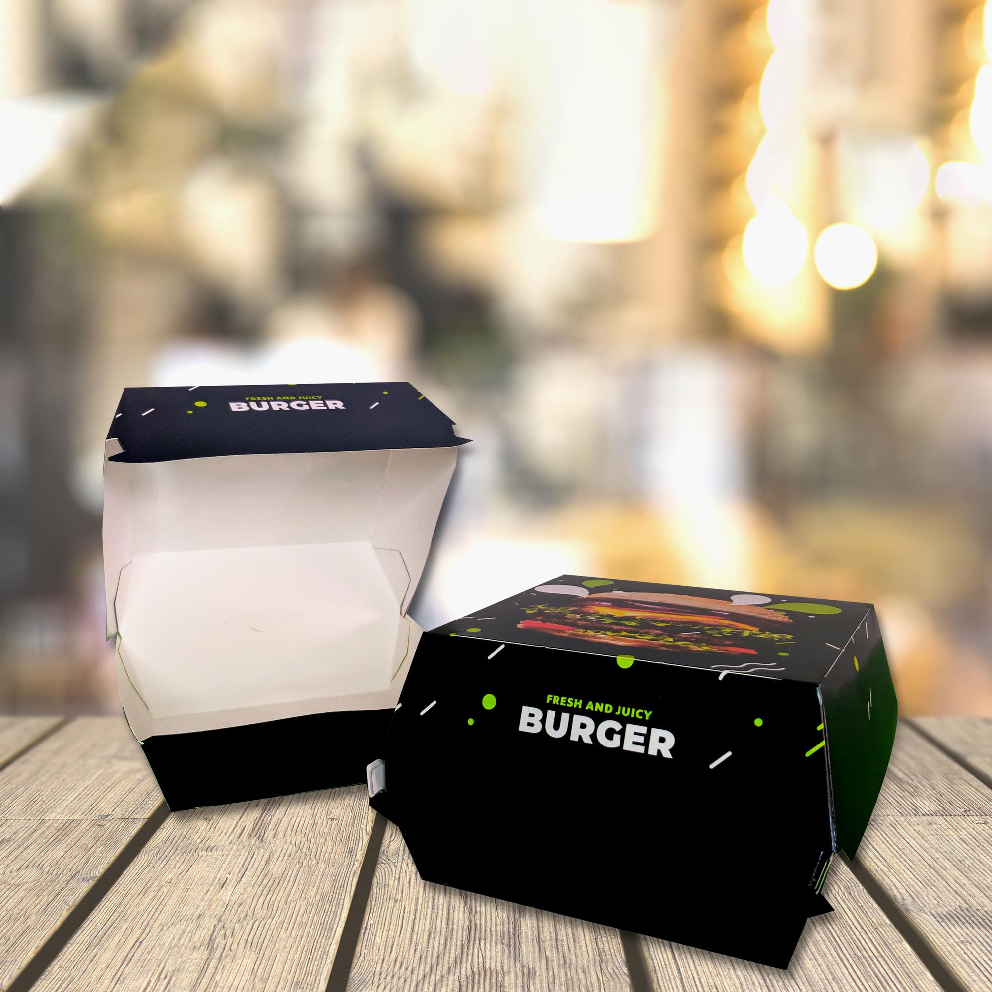Cutie Burger Grafică Unică