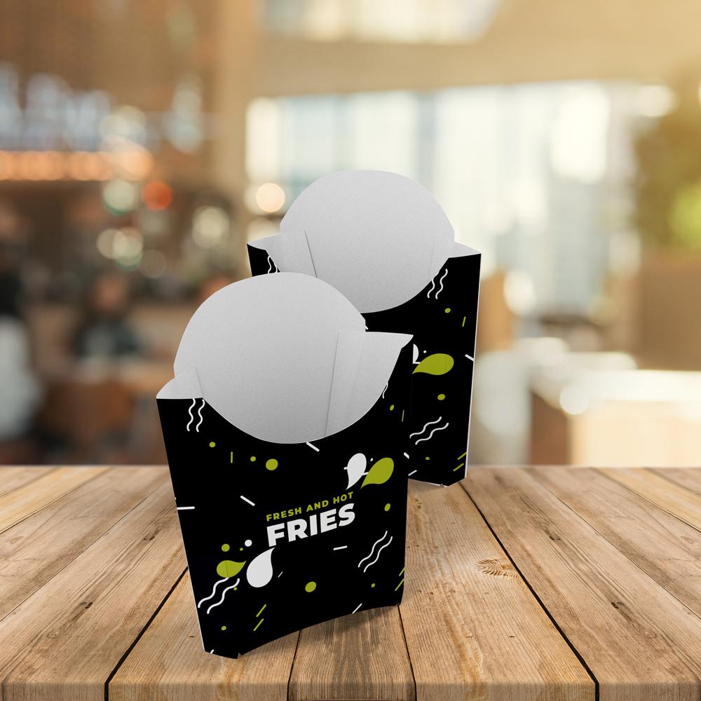 Cutie Cartofi Grafică Unică